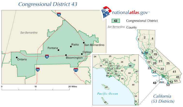 CA - 43rd District